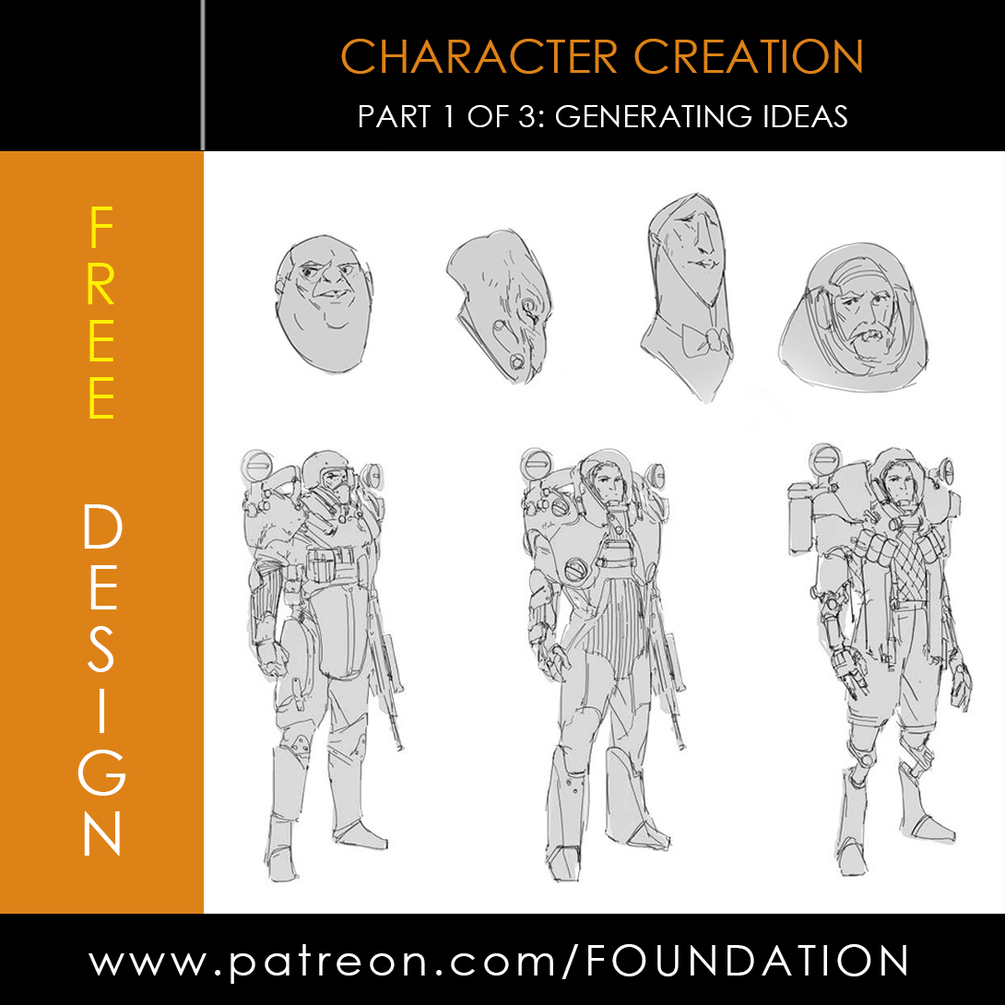 Recommended resources character and creature design the for Draw with jazza mural